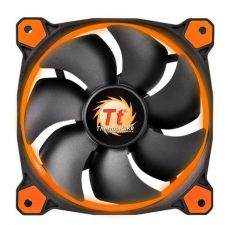 Thermaltake Wentylator Riing 14 LED Orange (140mm, LNC, 1400 RPM) Retail/Box