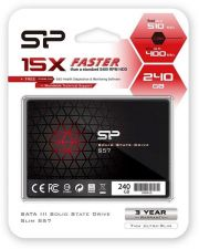 "Dysk SSD Silicon Power S57 240GB 2.5"" (510/400) SATA3 7mm 3D TLC"