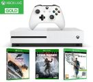 Microsoft Xbox One S 500GB + Forza Horizon 3 + Rise of the Tomb Raider + Quantum Break + 2x 3M Xbox Live Gold