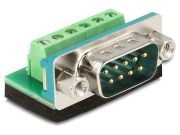 Adapter Delock terminal block (6 pin) -> DB9 COM(M)
