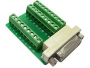 Adapter Delock terminal block (27 pin) -> DVI-D(F)(24+1)