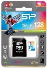 Karta pamięci MicroSDXC Silicon Power Colorful Elite UHS-1 128GB CL10 + adapter